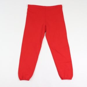 90s Russell Athletic Mens Medium Jogger Pants Red
